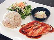 33. Teriyaki Salmon