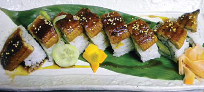 8. Dragon Roll