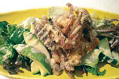 2. Soft Shell Crab Salad