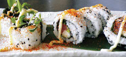 14. Hot & Spicy Tuna Roll