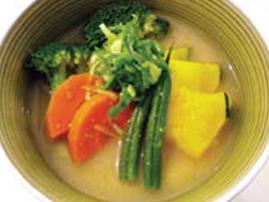 35. Vegie Miso Soup